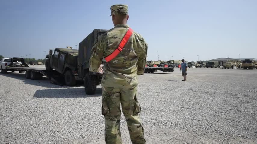 Task Force Hoosier welcomes returning 76th Infantry Brigade Combat Team, Day 4