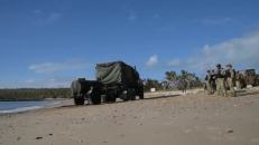 TS17 large-scale amphibious assault