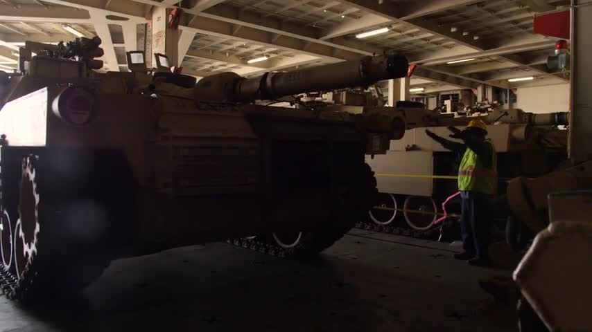 3rd Infantry Division conducts port operations in support of DEFENDER-Europe 20