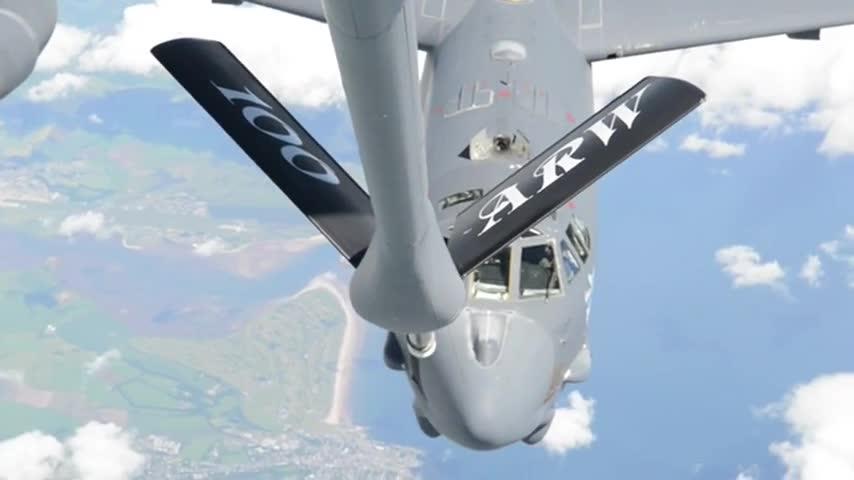 B-52 Aerial Refueling