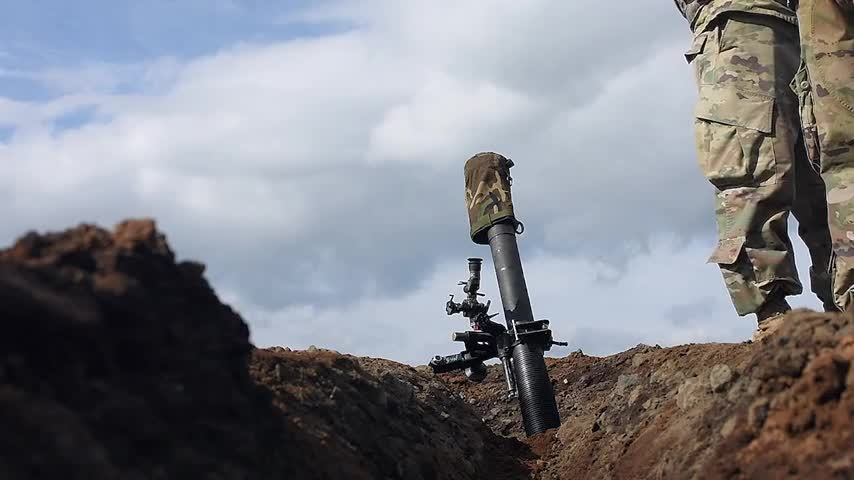 Orient Shield 2017 Mortar Live Fire