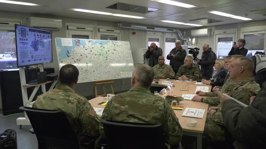 553rd Combat Sustainment Support Battalion APS Draw B-Roll